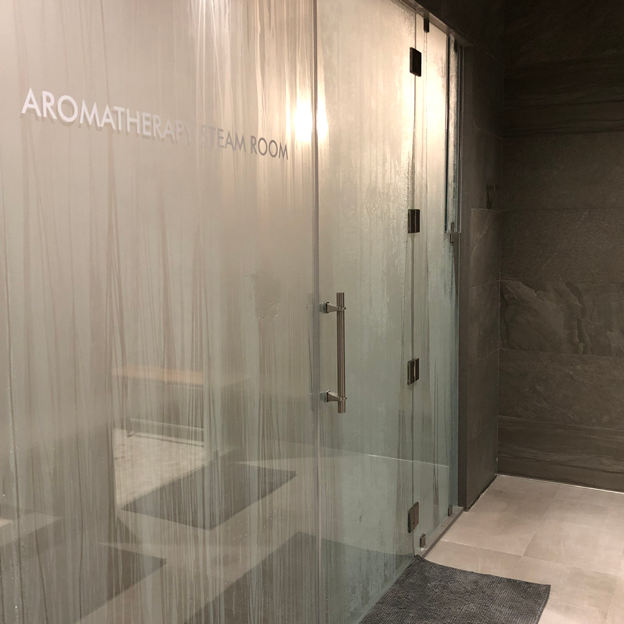 Aromatherapy Steam Room